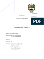A Monografia Juridica