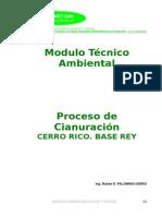 t178 Modulo Comercializacion CIANURACION-OrO