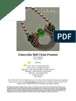 Esmeralda Pendant