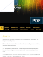 Profile of event management comapny