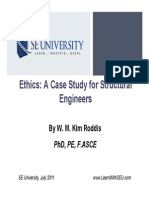 2011.07.13 - Ethics_A Case Study for Structural Engineers