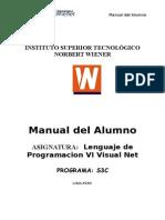 Lenguaje de Programación VI - Vb.net