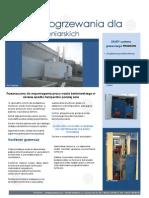Systemy ogrzewania kruszywa i wody technologicznej do produkcji betonu towarowego