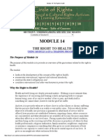 Module 14_ the Right to Health