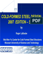 2012.02.01 - Cold-Formed Steel Design 2007 Edition - S100