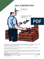 Federal Jurisdiction, Form #05.018