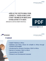 eHEALTH NETWORK FOR AFRICA