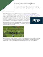 Madden NFL Mobile trucos para varios smartphones