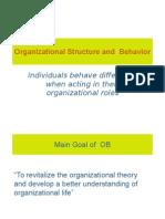 Organistional Behavior