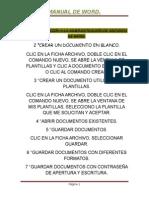 Manual Word Max 1º de Cq