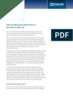 Dolby TrueHD Tech Paper Final