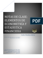 Curso econometria