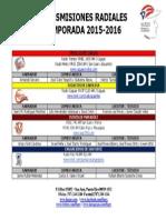 LBPRC 2015-2016 - Transmisiones Radiales