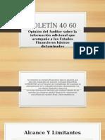 BOLETÍN 40 60