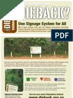 WA Dieback Signs Pamphlet 8