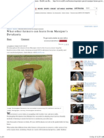 What Other Farmers Can Learn From Manipur's Devakanta - Rediff