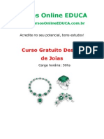 Curso Design de Joias