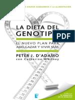 Dieta Del Genotipo