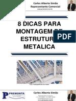 8 Dicas Para Montagem de Estrutura Metalica