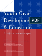 Malin Et Al. (2014) Civic Education Report