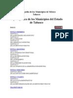 Enciclopedia de Los Municipios de México - Reglamentos Municipales