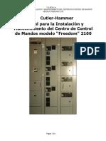 Manual InstalN y Mantto CCM CHF-2100