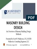 2012.08.08 - Masonry Building Design