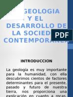 Geologia y Desesarrollo de La Sociedad