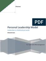 Personal Leadership Model