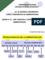 Adm. Cientifica y Teoria Clasica