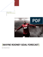 Forecasting Techniques applied to sports