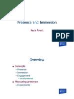 Lectures on Virtual Environment Development L14