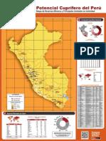 Potencial cuprífero del Perú
