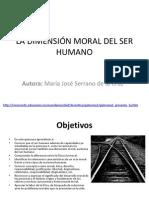 La Dimensión Moral Del Ser Humano