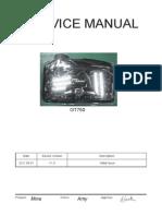 Optoma GT750 Service Manual V1.0