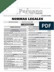 Normas Legales, 30 de octubre del 2015