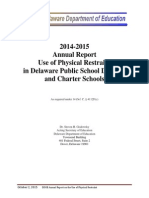 DOE PR Final Report 2014-2105