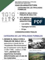 CATEGORIAS FORMALES DE TIPOLOGIAS