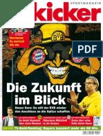 (01) Kicker Sportmagazin No 28 Vom 30. März 2015 (Club)
