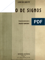 Libro de Signos León De Greiff