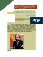 Ramón López Velarde Intelectual e Testemunha em El testigo de Juan Villoro