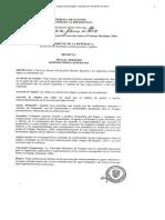 Decreto Ejecutivo No 86