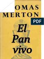 El Pan vivo, THOMAS MERTON