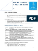 2015 Humanities July Exam Study Guide (1)