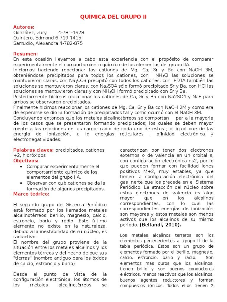 Qumica del grupo iicx urtaz Image collections