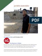 Gaza Aid Pledges Fail to Materialize