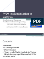 RVSM Implementation in Malaysia