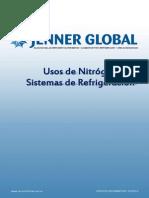 Usos de Nitrógeno en Sistemas de Refrigeración