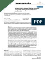 Chem-informatics Research Paper