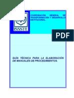 Guia Elab Manuales Procedimientos Issste